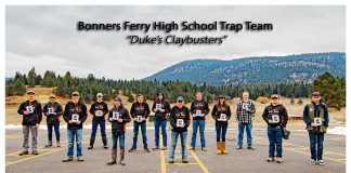 Bonners Ferry High School Trap team